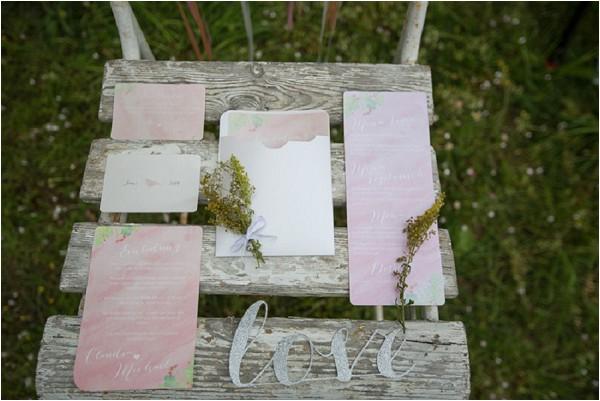 love wedding stationery