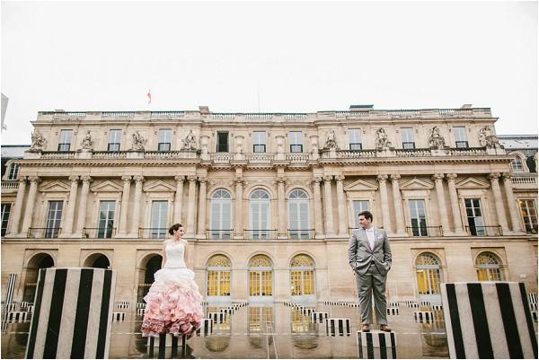 palais royal wedding photos