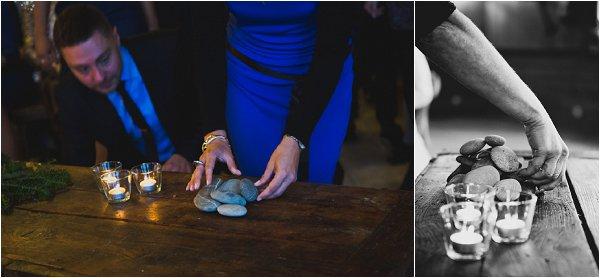 stone wedding ceremony