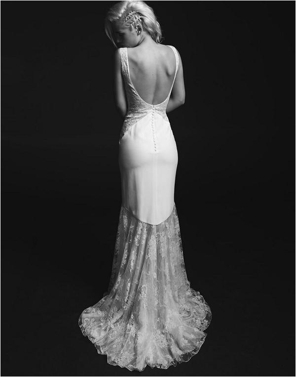 unusual bridal dress by Rime Arodaky