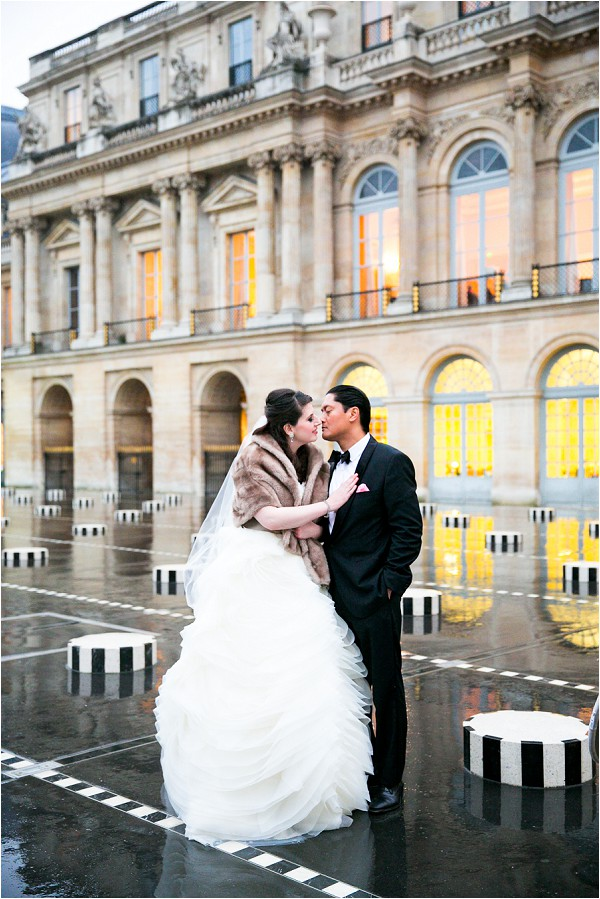 visiting paris in the rain