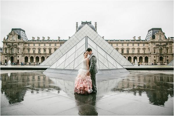 wedding at louvre paris