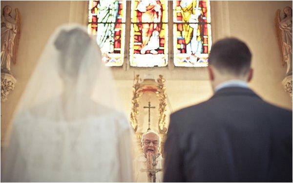 wedding ceremony in france