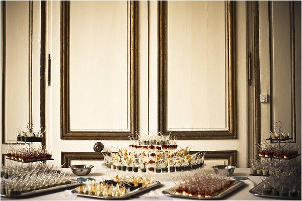 wedding food France