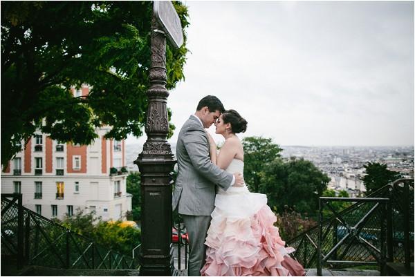 wedding images around paris