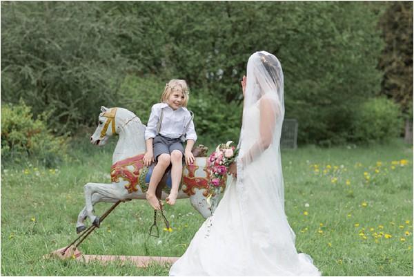 wedding rocking horse