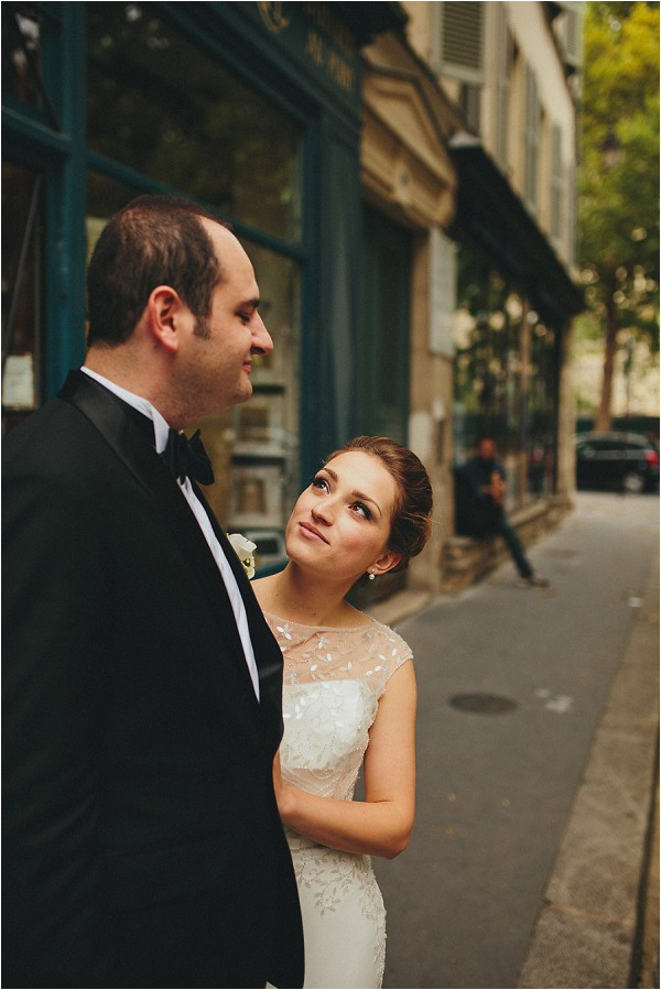 wedding streets of paris