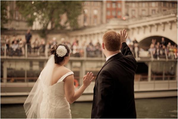 wedding tourists paris