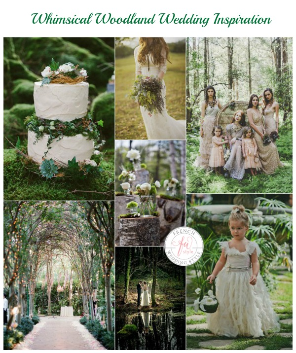 Whimsical Garden Wedding: Whimsical Woodland Wedding Inspiration
