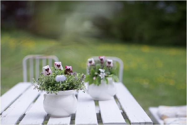 wild flower pots