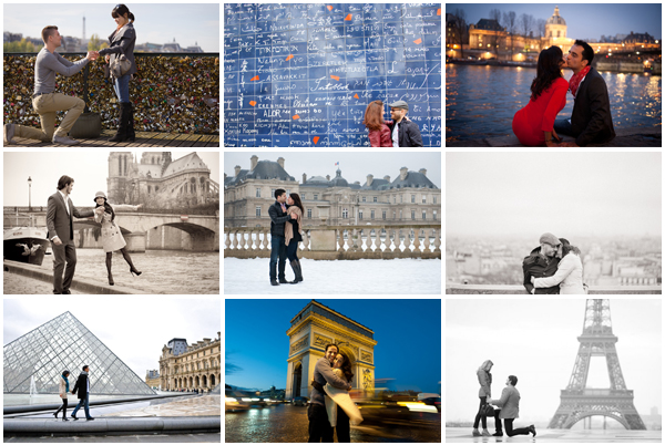 Festive Proposal Paris Popular Sites