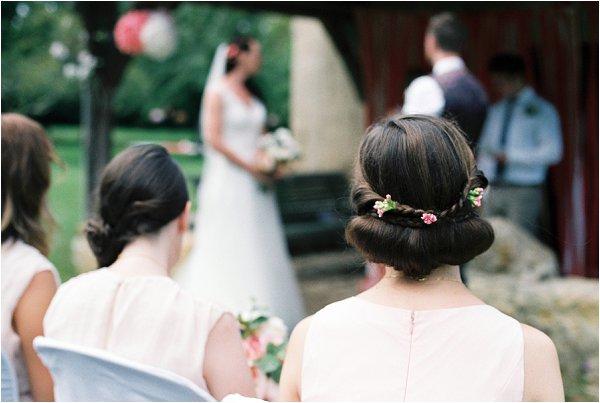 DIY Bridesmaid hair