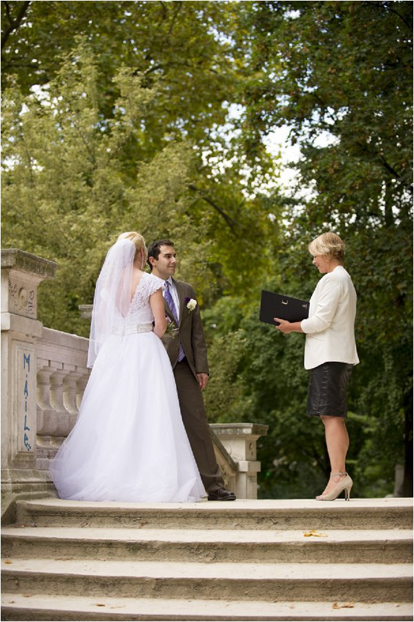 Parc Monceau wedding