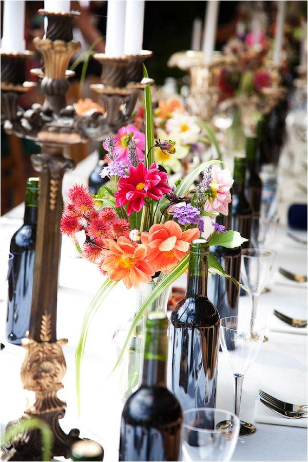 bold wedding flowers