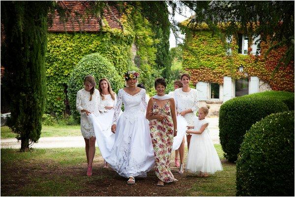 bride entourage