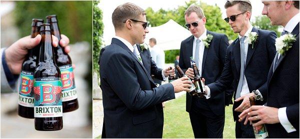 brixton wedding beer