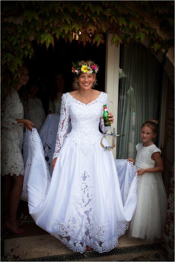 budget bridal dress