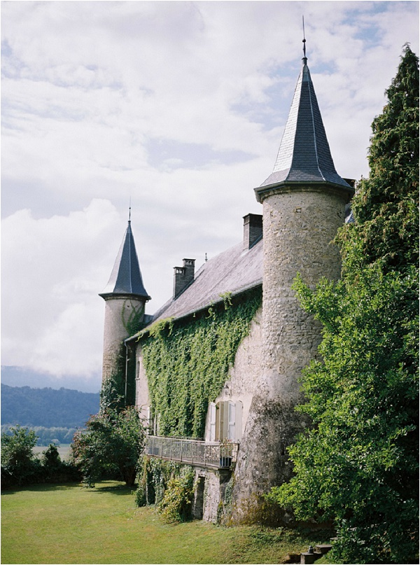 chateau wedding of your dreams
