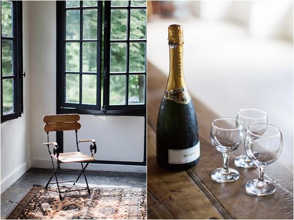 chair & champagne