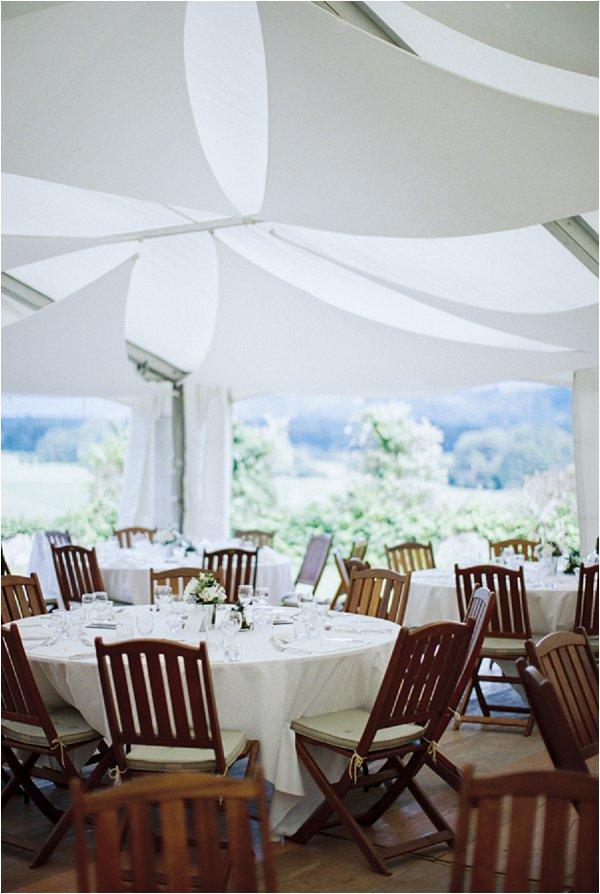 clean wedding style