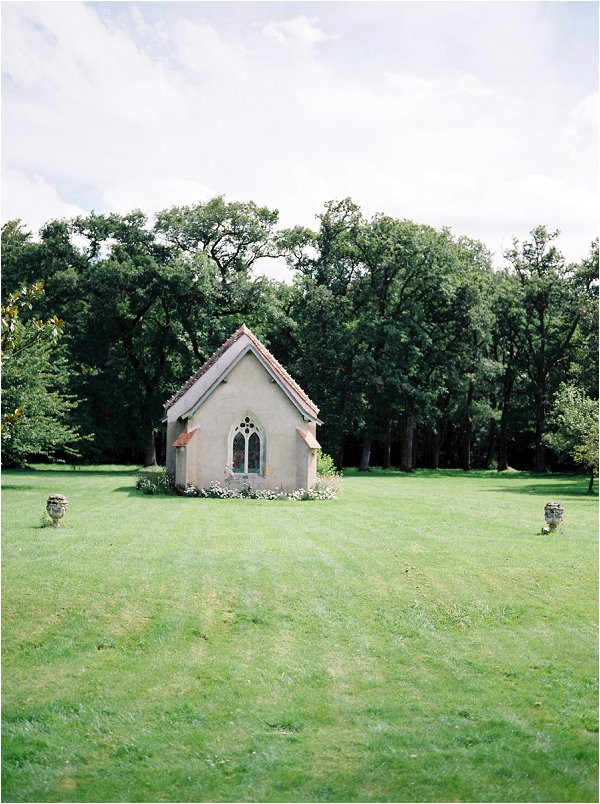Cute wedding chapel