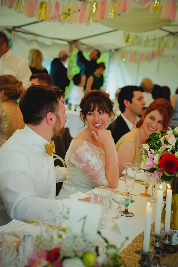 fete style wedding reception