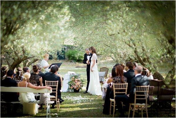 in the vines wedding