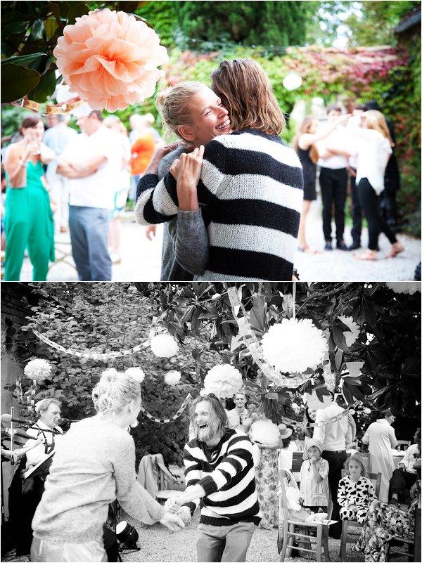 informal wedding day