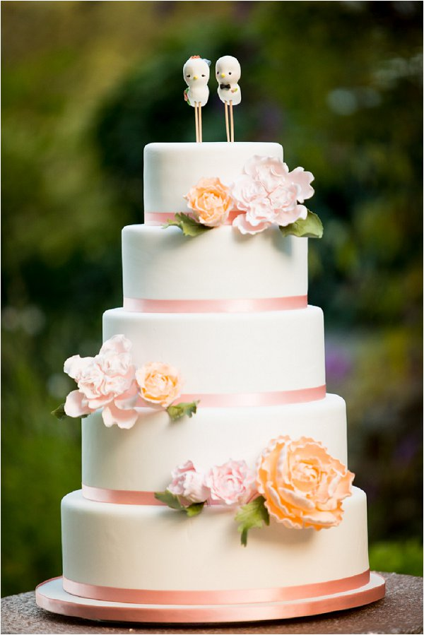 peach and white wedding cake 20 best wedding cakes in 18136