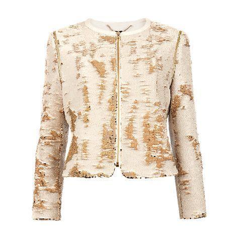 ted baker gold jacket