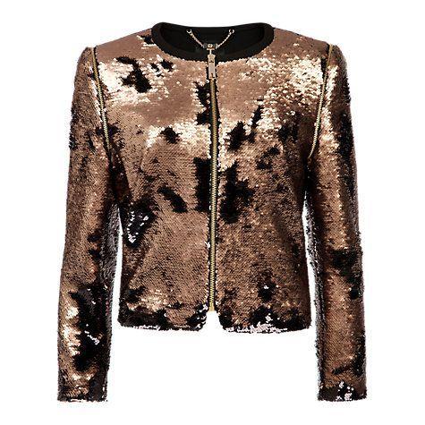 Bronze bridal jacket