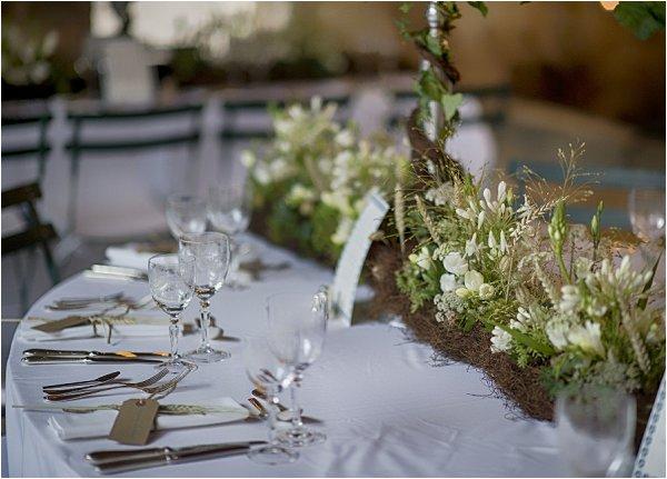 wodland wedding decor