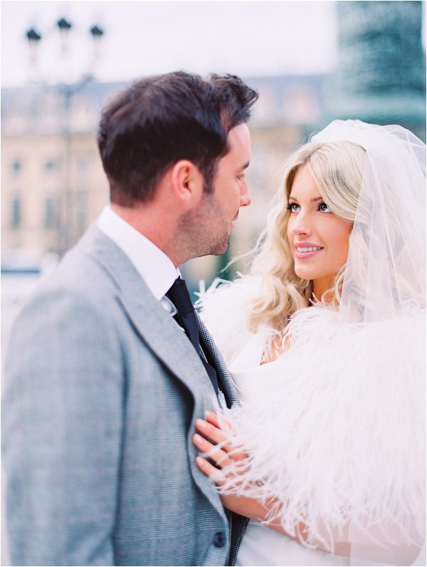 December wedding in Paris