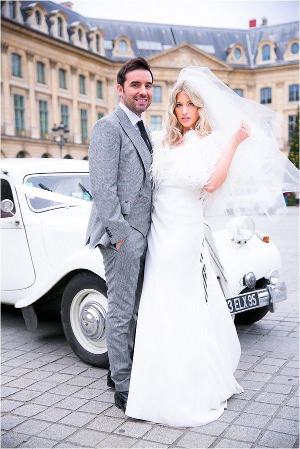 Paris December wedding