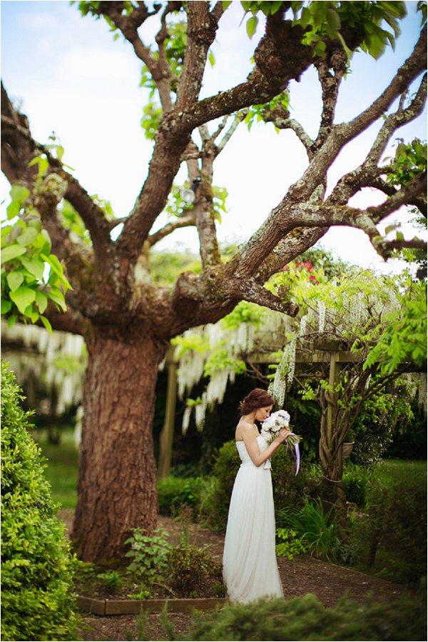 decorating wedding trees