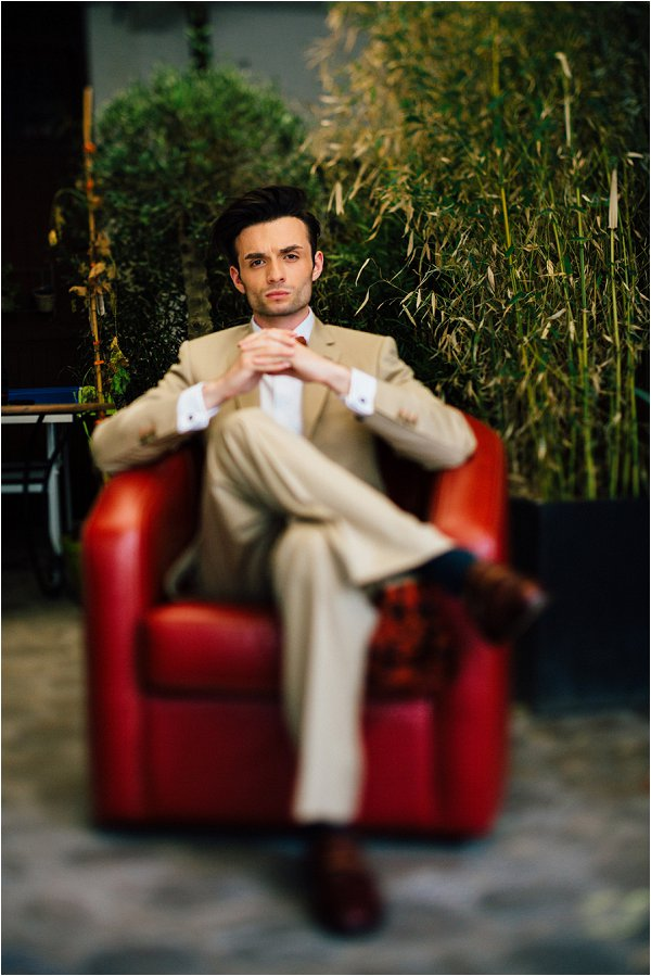 English Gentleman groom style