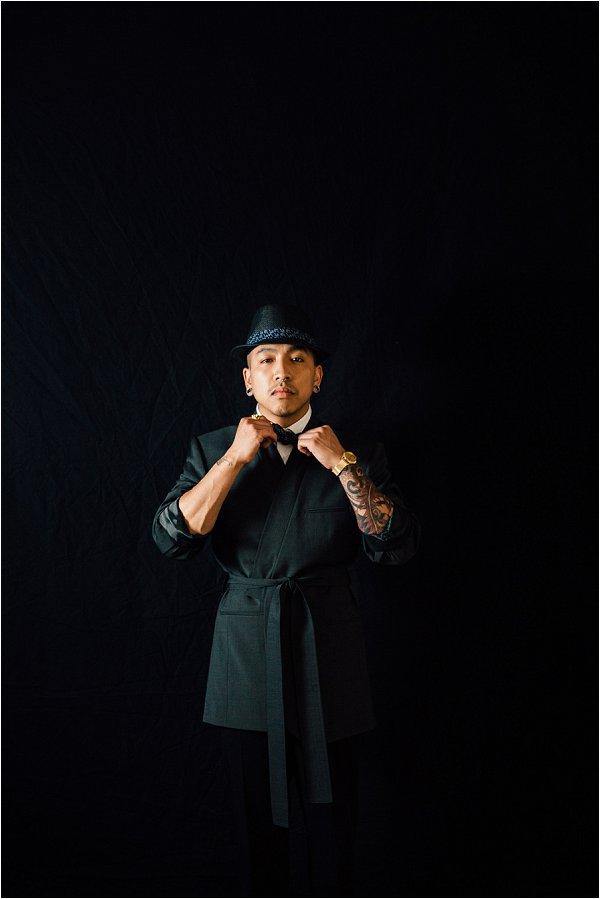Gangster groom style