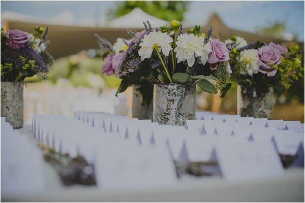 lilac wedding stationery