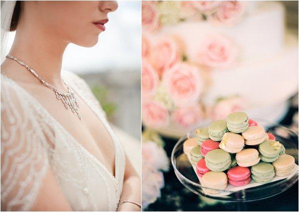 macarons and weddings