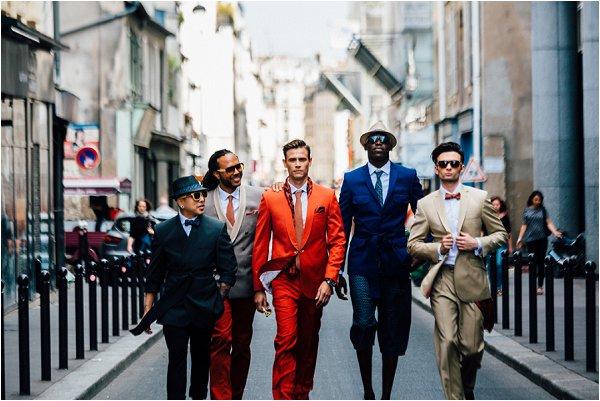 Paris grooms style