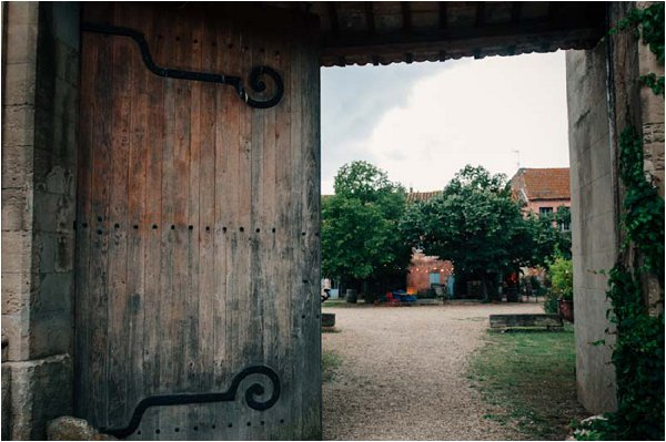 rustic French barn doors