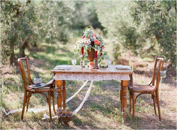 rustic countryside wedding