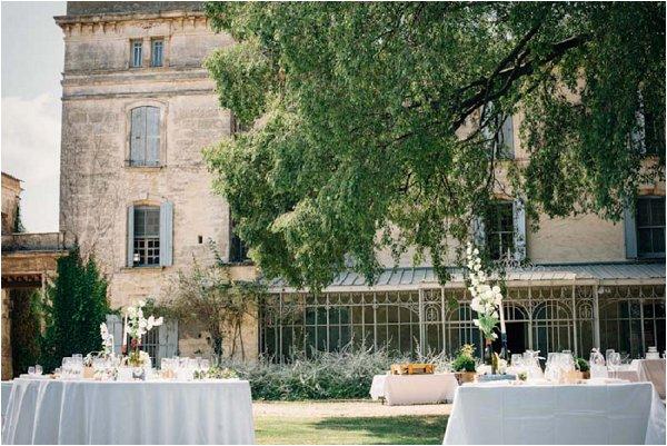 rustic wedding chateau france