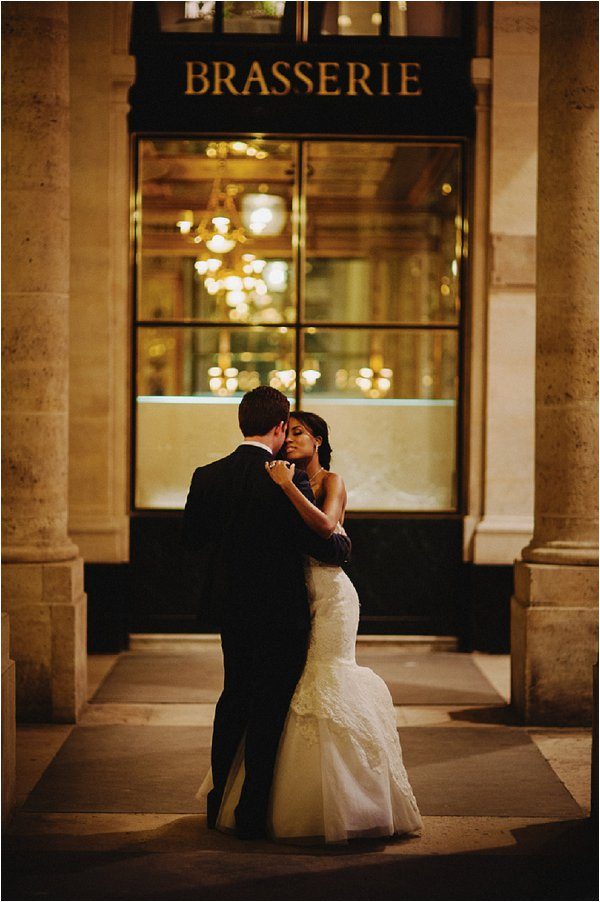 small wedding in paris France