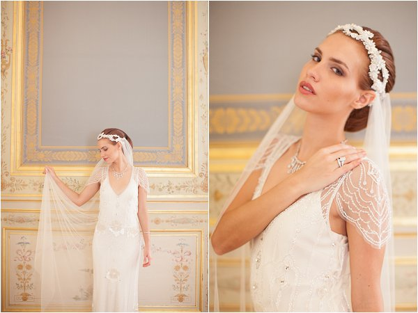 vintage bridal headwear