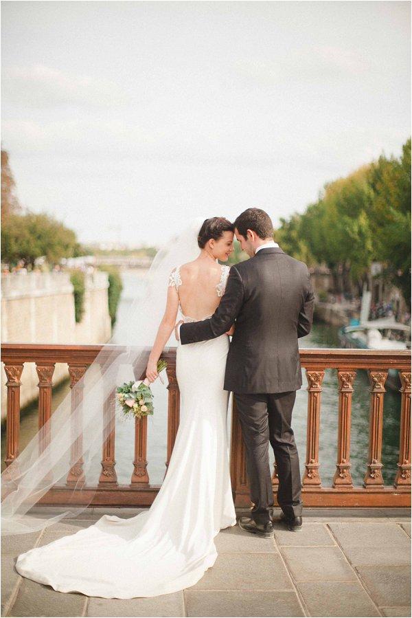 wedding bridge Paris
