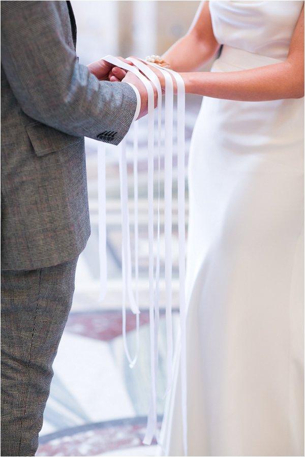 wedding ribbon ceremony