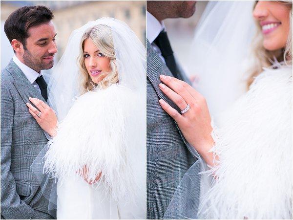 winter bridal style