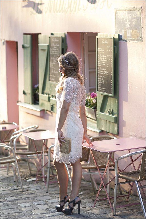 Paris bridal style