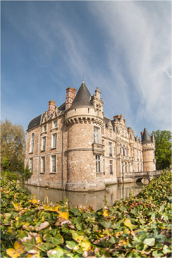 Wedding castle France